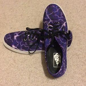 Vans lightning shoes